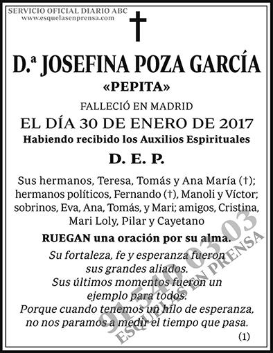 Josefina Poza García
